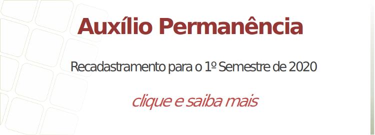 Edital n° 50/2019 - Programa de Auxílio Permanência