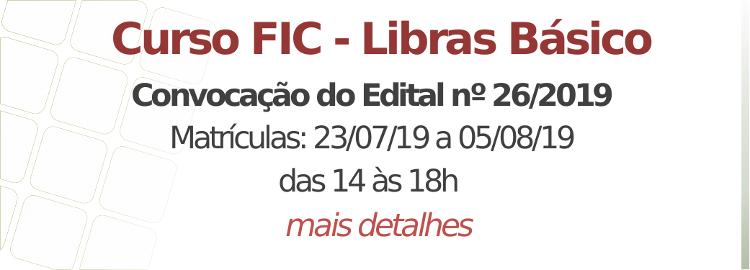 Edital nº 26/2019