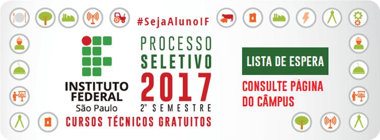 #SejaAlunoIF